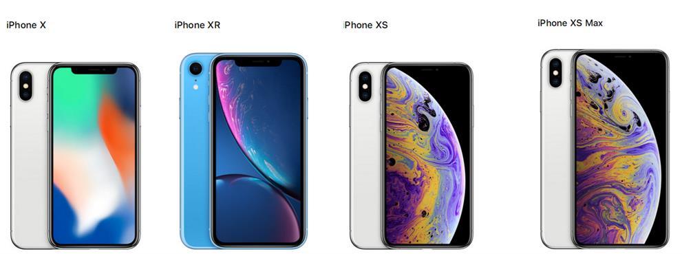 iPhone X/XR/XS/XS MAX 四款刘海屏手机哪个更值得买?