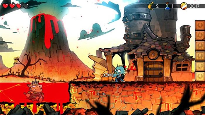 平台冒险游戏《神奇男孩:龙之陷阱》预约开启