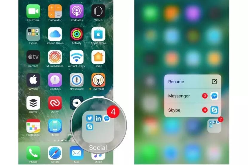 在 iPhone 上使用 3D Touch 功能的三个技巧