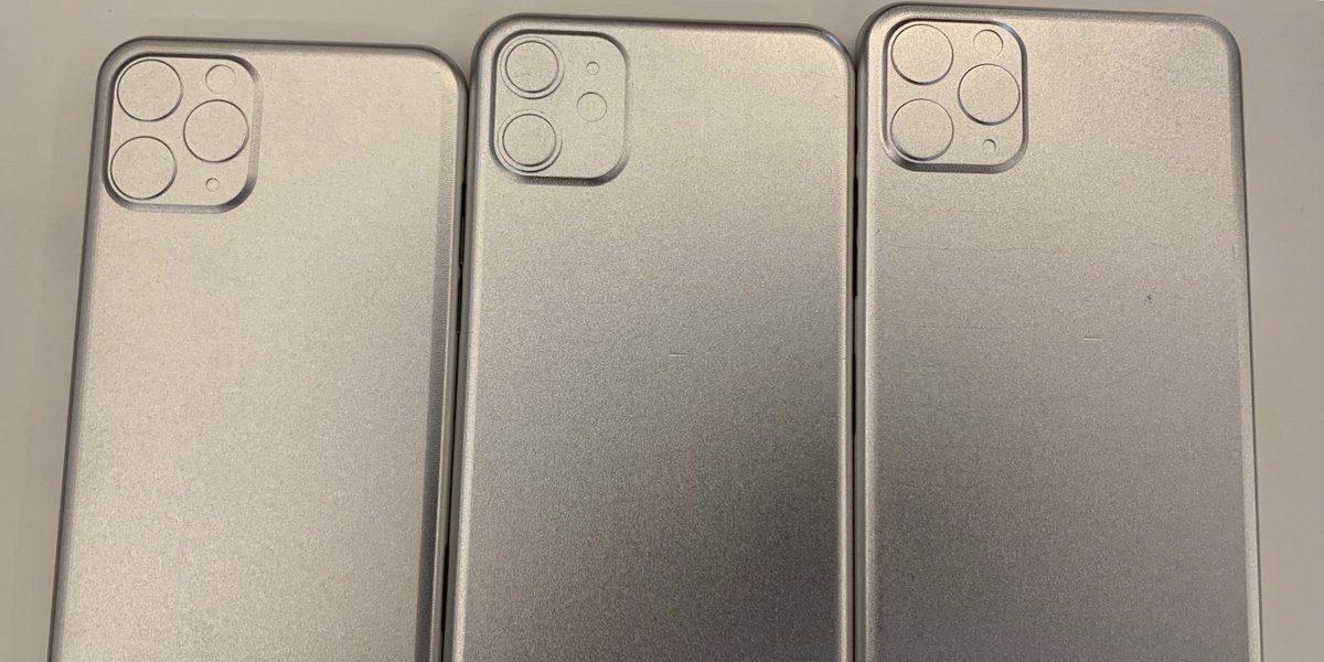 2019 iPhone 模具再现,三款背部都是正方形突起