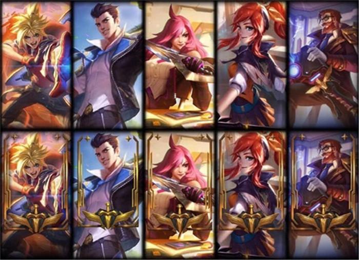 《英雄联盟》战斗学院系列皮肤正式上线 共有六名成员