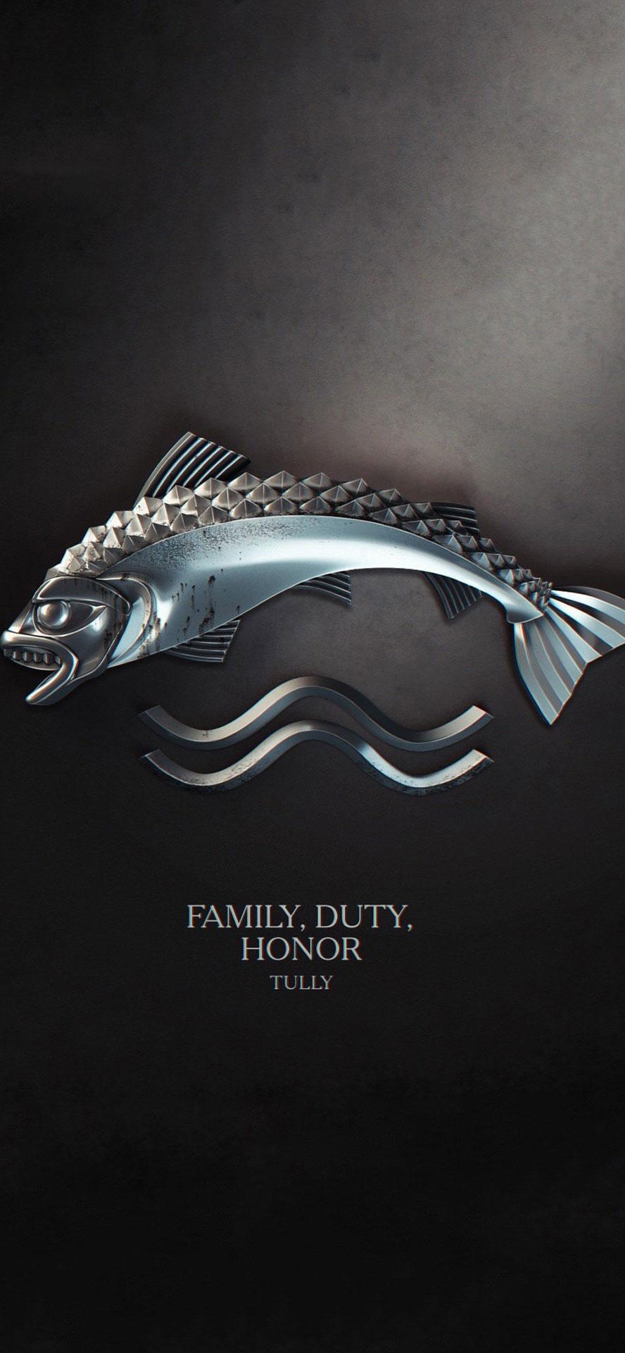 九大家族族语家徽 |「权力的游戏」iPhone 高清壁纸分享