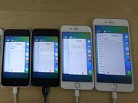 各代iPhone运行iOS 9视频对比