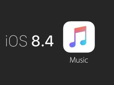 iOS8.4 Music使用方法介绍