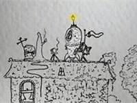 复古手绘风格游戏《小小火箭》即将登录移动平台