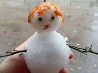 广州人堆雪人系列,哈哈哈~~