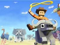 《疯狂动物园》:套马轩的牛仔,你威武雄壮