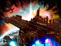 宇宙大战一触即发 《哥特舰队:利维亚坦》现已上架