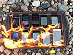哪一代iPhone最防火?一起来看看这个耐烧实验