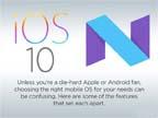 Android 7.0对比iOS 10:孰优孰劣?
