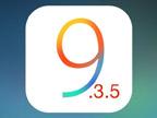 iOS 9再见: 苹果关闭验证iOS 9.3.5和10.0.1刷机验证