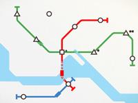 《迷你地铁》临时专线攻略 解决偏远站难题