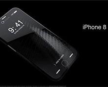 iPhone8概念设计:玻璃机身,超薄环绕式屏幕