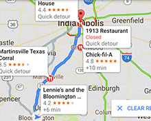 "iOS版谷歌地图更新:新增""附近路况""小部件"