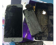 iPhone 6突发自燃!连苹果都不知道怎么回事