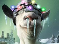 《模拟山羊》网游版更新 疯狂山羊大闹圣诞小镇