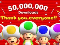 任天堂:《超级马里奥奔跑》下载量突破五千万 未来每年将推出2款作品
