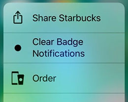 ClearBadges3DTouch10:可帮iOS 10用户快速清除应用角标