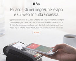Apple Pay全球继续扩张   即将登陆意大利