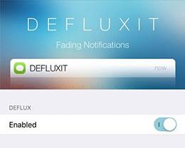 插件Defluxit:为锁屏上的通知添加渐变效果