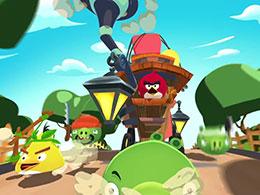 怒鸟和绿皮猪联手 《愤怒的小鸟:岛屿》定名《愤怒的小鸟:鸟猪联盟战神秘岛》