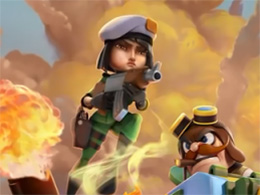 "gameloft新作《闪电部队:策略战争》公布 玩法十分相似""皇室战争"""