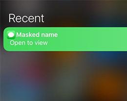 插件 MaskMe10:允许iOS 10用户更改某些通知内容