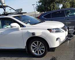 苹果无人驾驶汽车什么样?有人在硅谷看到了