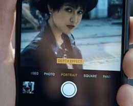 苹果新广告 7 Plus 浓情蜜意奇幻的人像模式