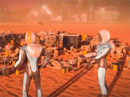 策略游戏《火星求生》曝光 在火星建造殖民地
