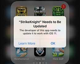 全面进攻64位!苹果iOS 11已不支持32位应用程序