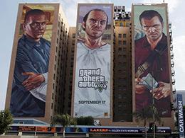 来欣赏一波最近几年E3的楼体广告吧