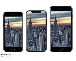 苹果iPhone8/7s Plus最终版设计图流出:已全面开始量产