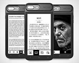 iPhone背面的新科技 : 墨水屏大放异彩