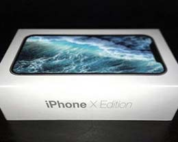 苹果全新包装现身 竟命名iPhone X Edition