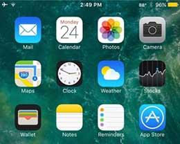 插件WeatherStatusBar10:可将气温显示在iPhone状态栏上