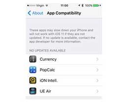 你的iPhone安装有32位应用吗?检查一下