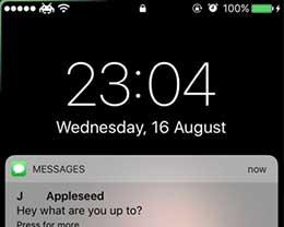 越狱插件Edgify:让苹果iPhone拥有三星S8的通知动画