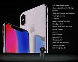 苹果iPhone X上手视频:全面屏颜值震撼