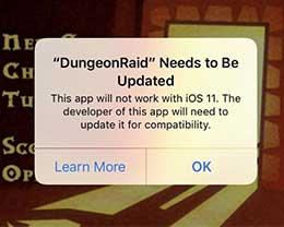 明天更新iOS 11后 32 位应用将无法启动
