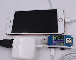 哪些充电器支持iPhone8快充?iPhone8快充实测