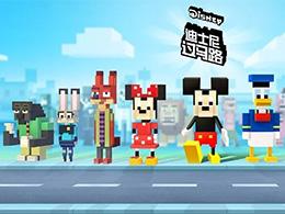 正版手游《迪士尼过马路》上线,游族大IP战略深入休闲领域