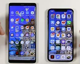 苹果iPhone X/三星Note8应用运行速度对比