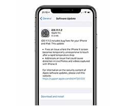 iOS11.1.2正式版更新了哪些内容?如何更新iOS11.1.2正式版