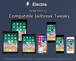 iOS 11 – iOS 11.1.2越狱兼容插件汇总