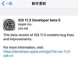 iOS 11.3 beta 5值得更新吗 iOS 11.3 beta 5卡不卡