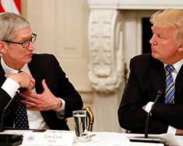 特朗普下手中国制造 iPhone回美要交过路费