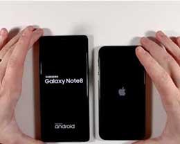 使用4个月后的iPhone X与三星Note8谁更快?