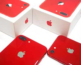 红色版iPhone 8/8 Plus图赏:惊艳到爆