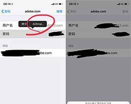 iOS 12实用新功能 通过AirDrop分享密码